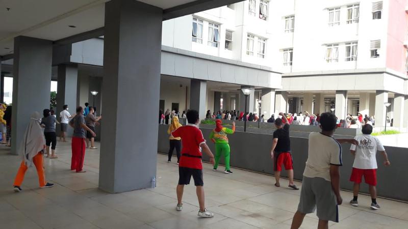 Cerita Pasien Covid-19 Menjalani Isolasi di RSD Wisma Atlet