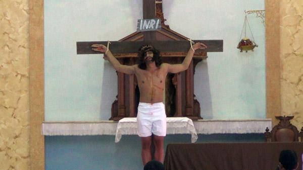 Gereja di Sumenep Gelar Drama Penyiksaan Yesus