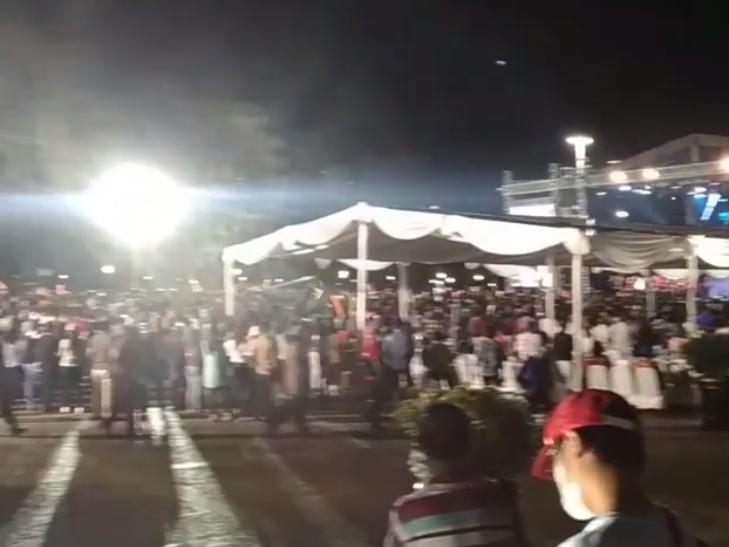 GBI Glow Rayakan Paskah di Monas