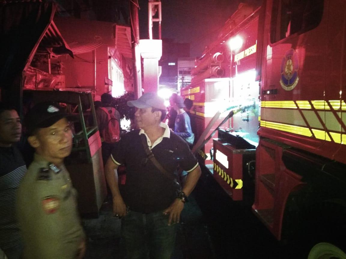 Korban Kebakaran Tamansari Ditampung di 2 Lokasi