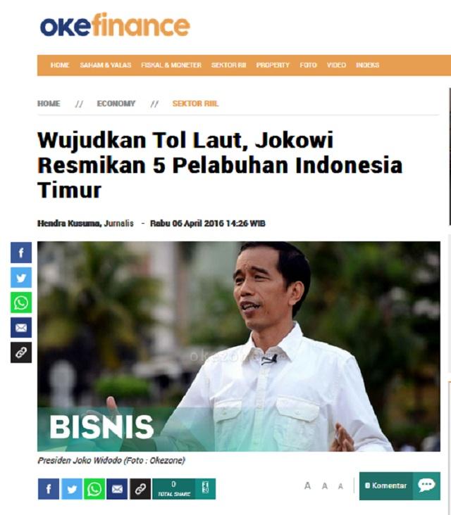 [Cek Fakta] Video Penampakan Tol Laut Pertama di Indonesia? Ini Faktanya