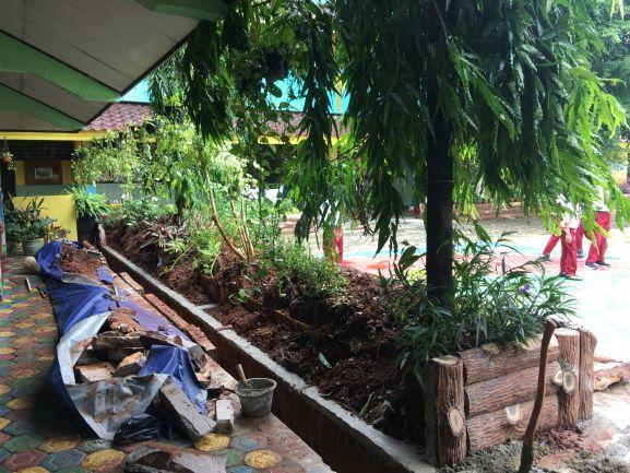 Kegiatan Belajar SDN 03 Cipulir Normal Pascabanjir