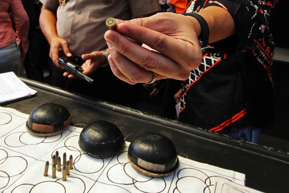Pejudi Koprok Ditangkap di Tangerang