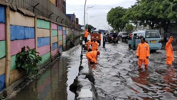 Anies Sebut Banjir di Jakarta Akibat Curah Hujan Ekstrem