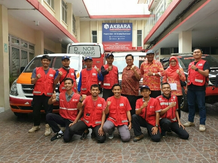 PMI Solo Kirim Relawan Bantu Korban Bencana Tsunami Banten