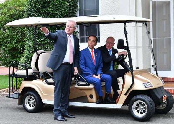 Presiden Dipuji dalam Membantu Penanganan Kebakaran Hutan di Australia