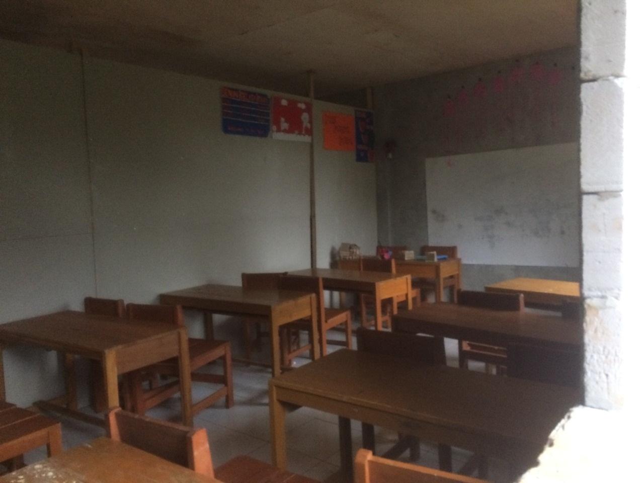 Kehabisan Dana, Pembangunan MTs Mathla'ul Anwar Terkatung-katung
