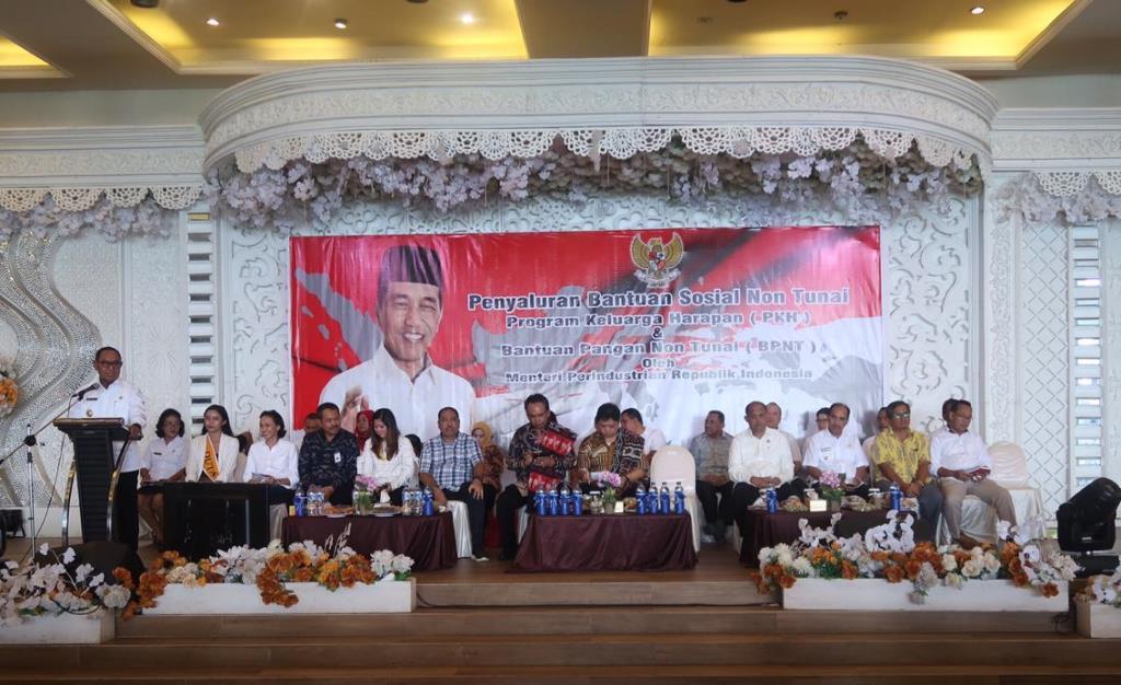 Menperin: PKH dan BPNT Bantu Turunkan Kemiskinan