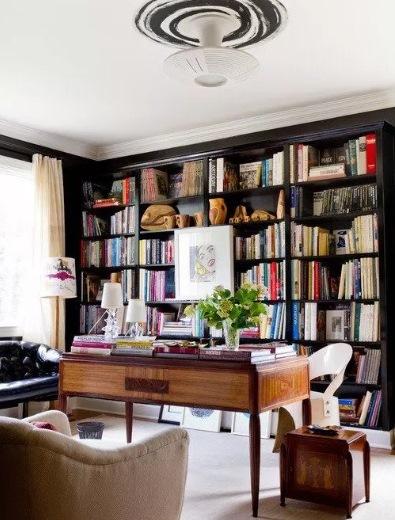 Ide Desain Perpustakaan Rumah yang Keren