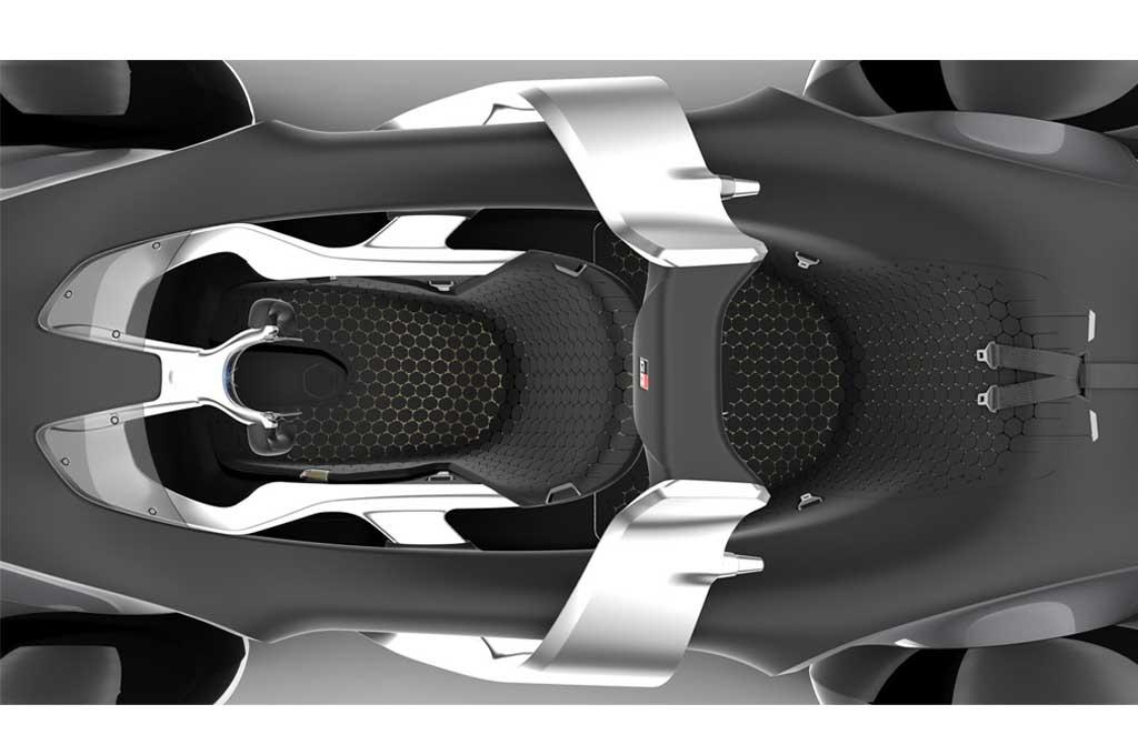 Toyota e-Racer Concept Mobil Sport Masa Depan