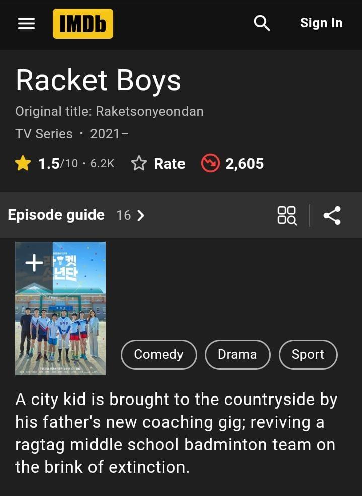 Begini Nasib Drakor <i>Racket Boys</i> Setelah Dirujak Netizen +62: Rating Tinggal 1,5