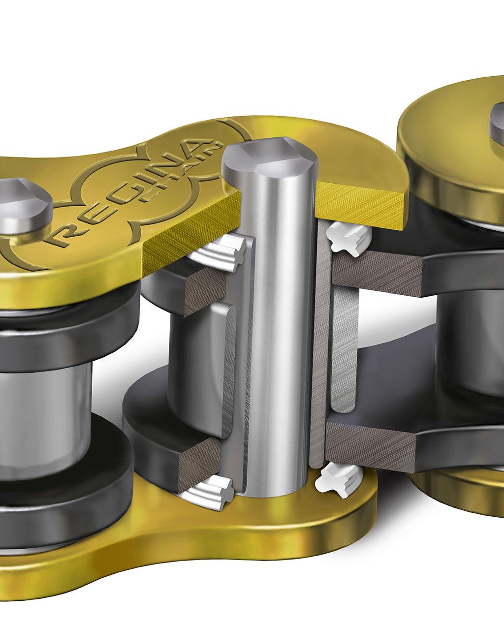 Regina Chain Tawarkan Desain Z-Ring di Rantai Motor