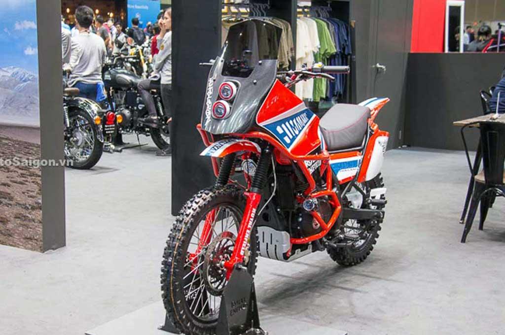 Royal Enfield Himalayan ini Terinspirasi Dakar Rally