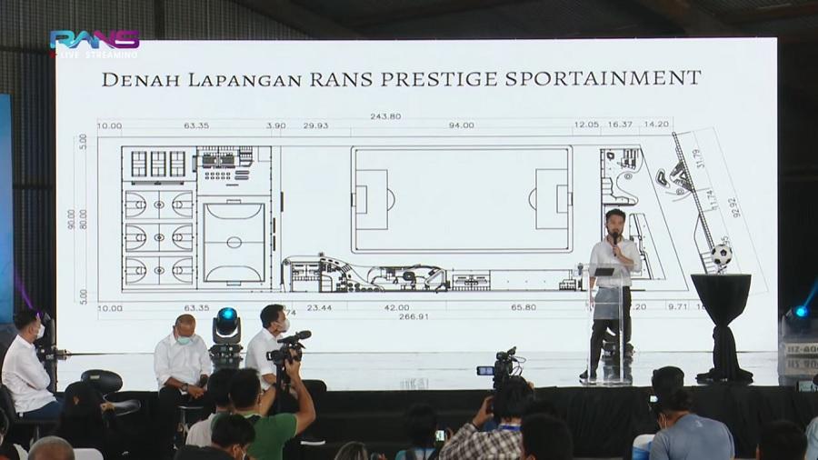 Mega Proyek Raffi Ahmad di RANS Cilegon FC, Investasi Rp 300 M, Hingga Bangun Pusat Latihan di Kawasan Elite