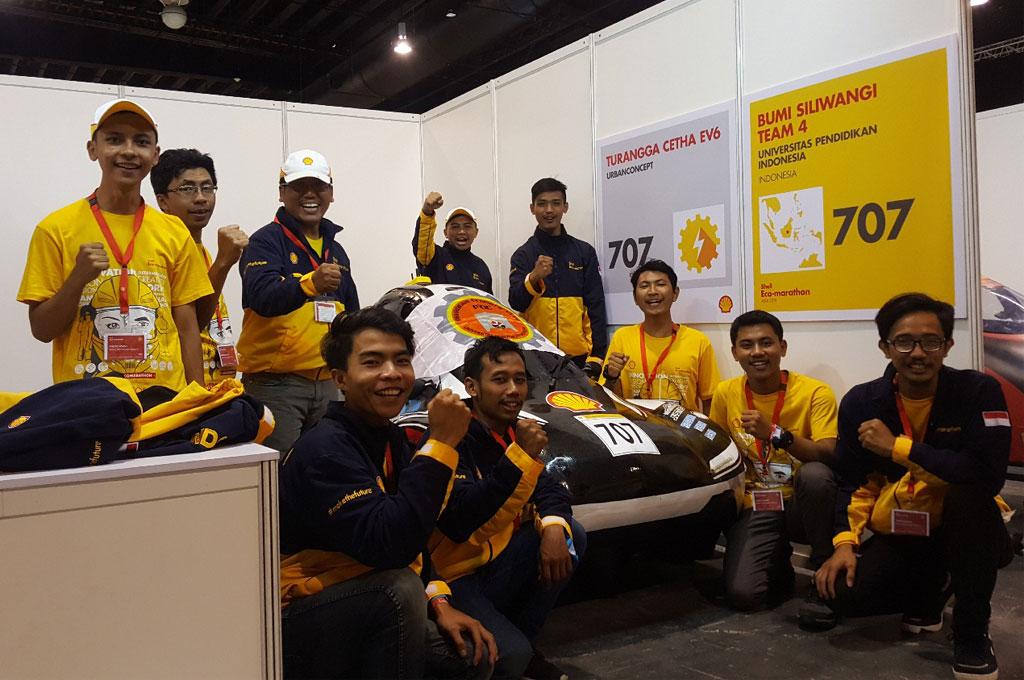 Prototipe Mobil Ramah Lingkungan Mahasiswa Indonesia Mulai Diakui