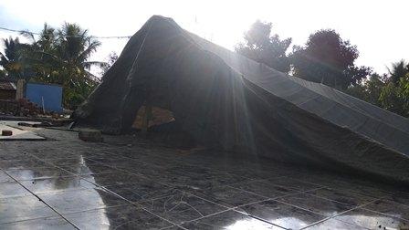 Korban Gempa Lombok Masih Tinggal di Tenda Darurat