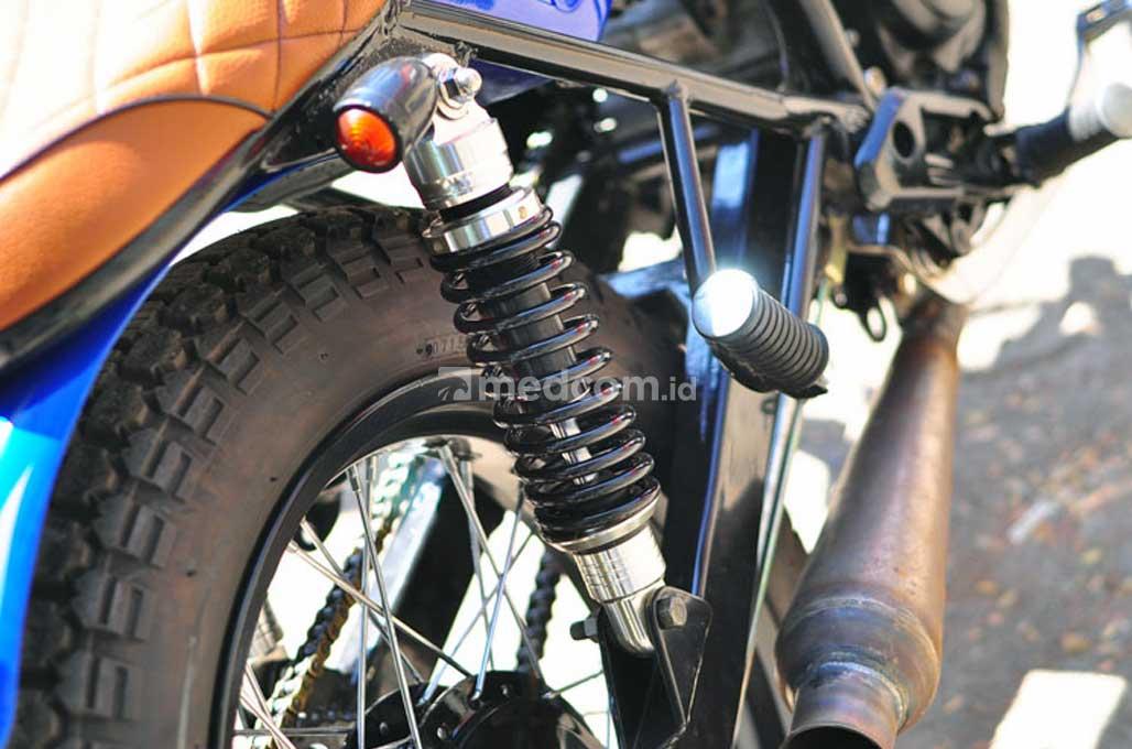 Yamaha Scorpio Street Tracker untuk Harian