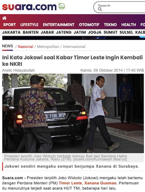[Cek Fakta] Kabar Timor Leste Ingin Kembali Bergabung dengan Indonesia Hoaks, Ini Faktanya