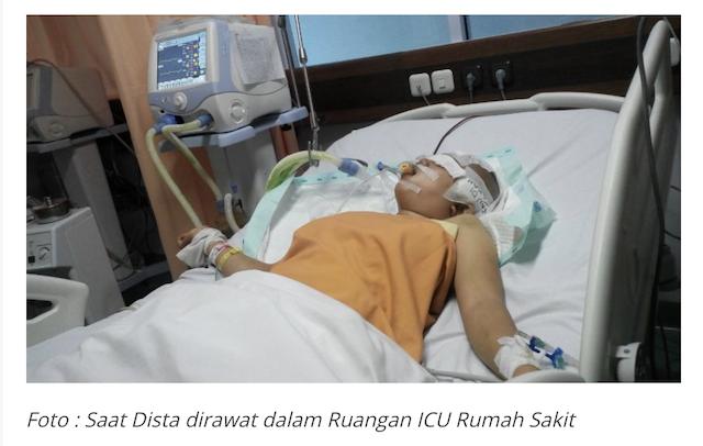 [Cek Fakta] Foto Abu Janda Terbaring Koma di Rumah Sakit? Ini Faktanya