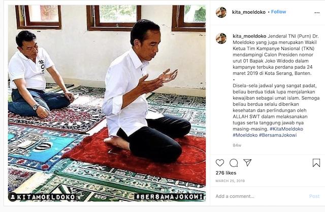 [Cek Fakta] Foto Jokowi Berdoa Minta Segera Lengser? Ini Faktanya