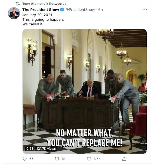 [Cek Fakta] Video Presiden Trump Diseret dan Diusir dari Gedung Putih? Ini Faktanya