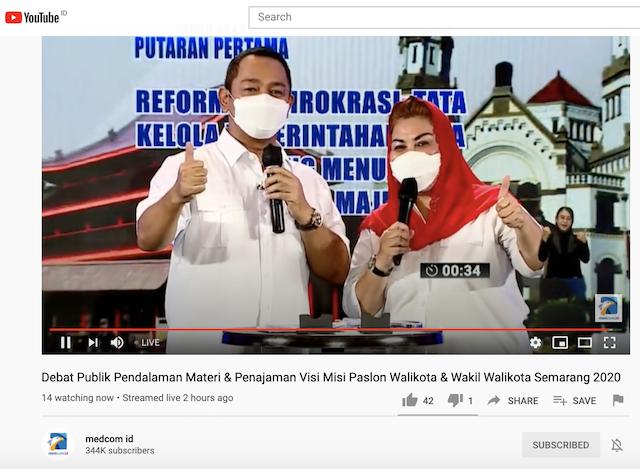 [Cek Fakta] Petahana Klaim Semarang Sudah Gratiskan 40 Sekolah Swasta? Ini Faktanya