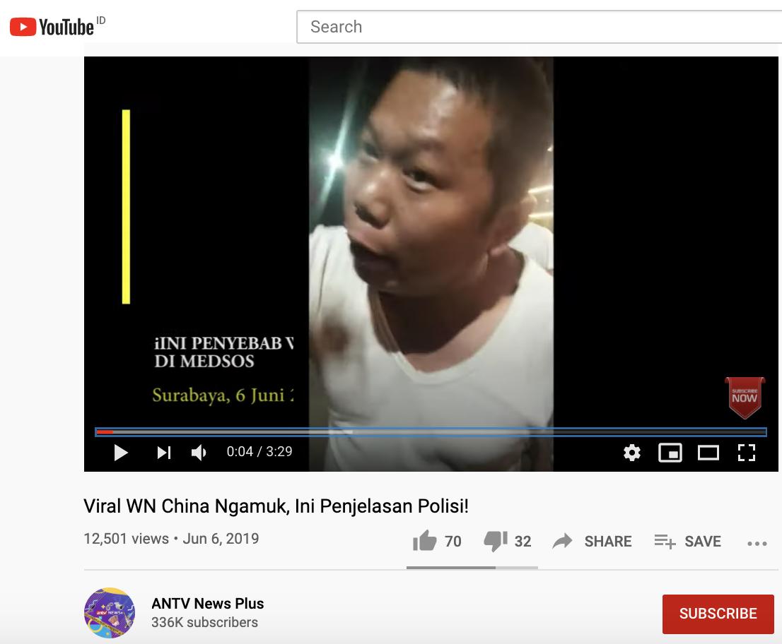 [Cek Fakta] Viral Pria Tiongkok Memarahi Polisi? Begini Faktanya