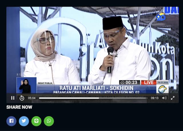 [Cek Fakta] Calon Petahana Sebut IPM Kota Cilegon Tertinggi Kedua Se-Provinsi Banten? Cek Faktanya