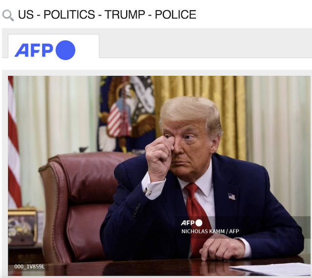 [Cek Fakta] Trump Menangis Usai Kalah Pilpres AS? Ini Faktanya