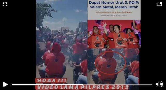 [Cek Fakta] Video Konvoi Plat AD Knalpot Bising Perayaan Kemenangan Gibran? Ini Faktanya