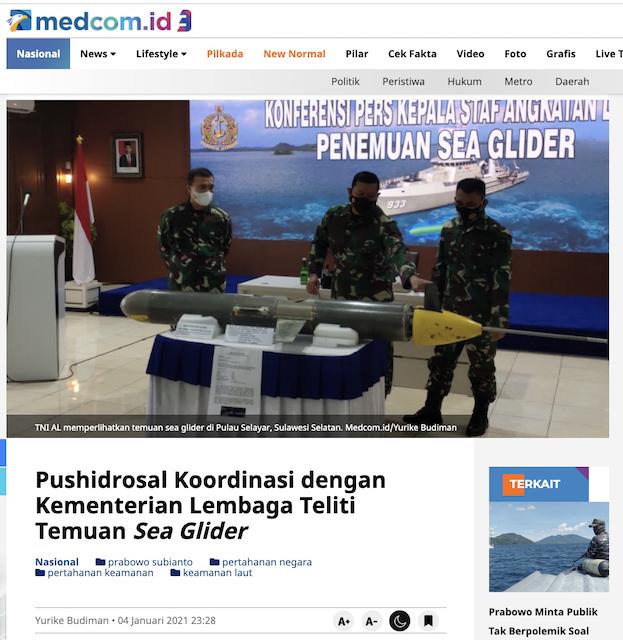 [Cek Fakta] Prabowo Sebut Tiongkok Negara Sahabat terkait 'Drone' yang Ditemukan di Perairan Indonesia? Ini Faktanya