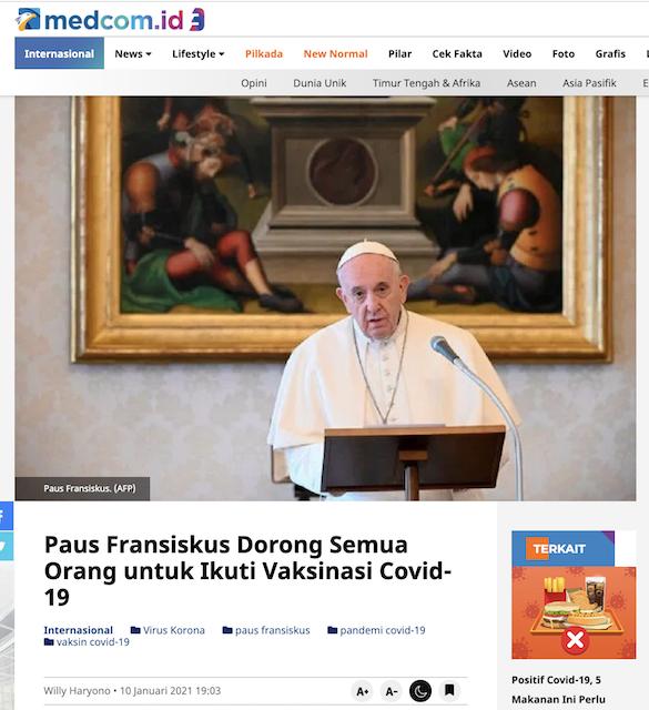 [Cek Fakta] Video Alfian Tanjung Sebut Pendeta dan Gereja Larang Vaksinasi? Ini Faktanya