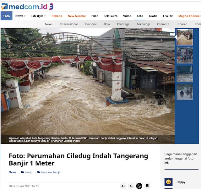 [Cek Fakta] Foto Mobil Hanyut Terseret Banjir? Ini Faktanya