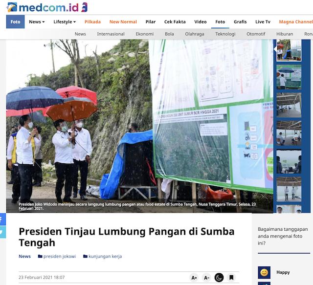 [Cek Fakta] Jokowi Nekat Turun ke Sawah saat Hujan Deras Disebut Sinetron TV Indonesia? Ini Faktanya