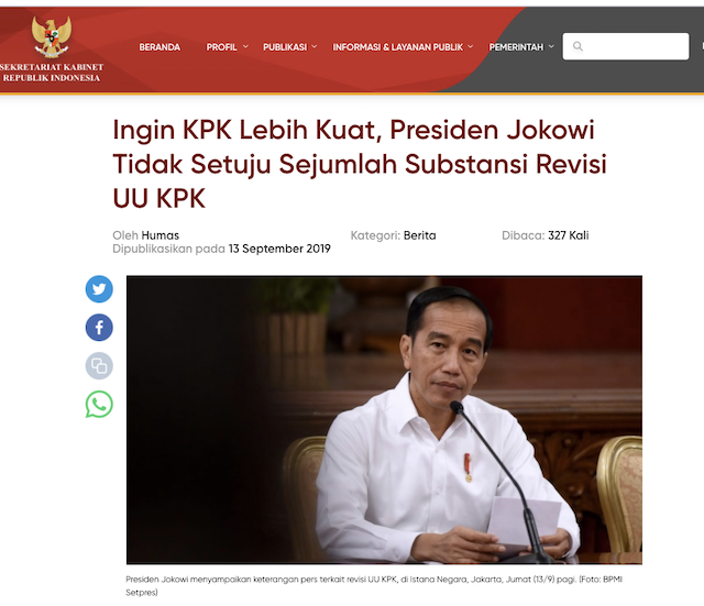 [Cek Fakta] Jokowi Dikabarkan Kembali Maju di Pilpres 2024, Rakyat akan Sangat Bahagia? Ini Cek Faktanya