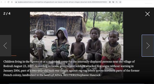 [Cek Fakta] Foto Aktivis Ini Makan di Depan Anak-Anak Kecil yang Kelaparan? Ini Cek Faktanya
