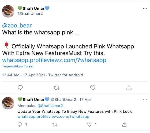 [Cek Fakta] WhatsApp Resmi Meluncurkan Versi Terbaru Berwarna <i>Pink</i> ? Cek Dulu Faktanya