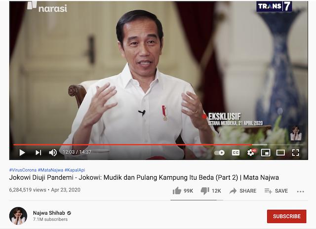 [Cek Fakta] Video Seorang Pria Hancurkan TV yang Tayangkan Jokowi? Ini Faktanya