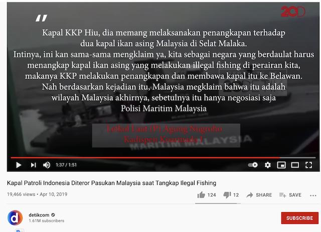 [Cek Fakta] Video Pasukan Malaysia Kejar Kapal TNI di Lautan Indonesia? Ini Faktanya
