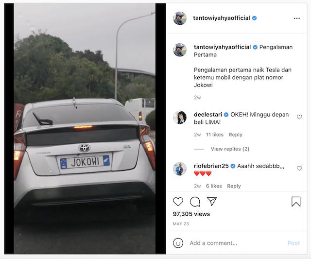 [Cek Fakta] Jokowi Punya Mobil Berplat