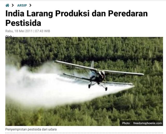[Cek Fakta] Kata Dokter Lois Ada Pestisida yang Disemprot dari Udara dan Jangan Panik kalau Demam? Cek Faktanya