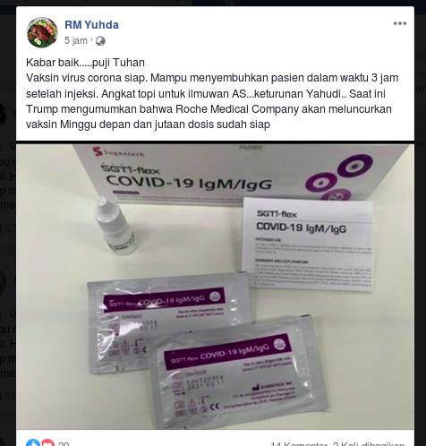 [Cek Fakta] Benarkah Foto Ini Memperlihatkan Vaksin Covid-19 yang Siap Edar, Faktanya?