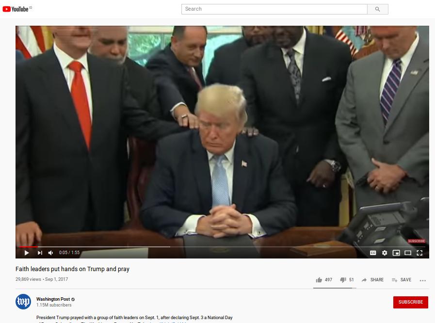 [Cek Fakta] Video Donald Trump Dirukiah karena Stres Menghadapi Pandemi Covid-19 Hoaks, Ini Faktanya