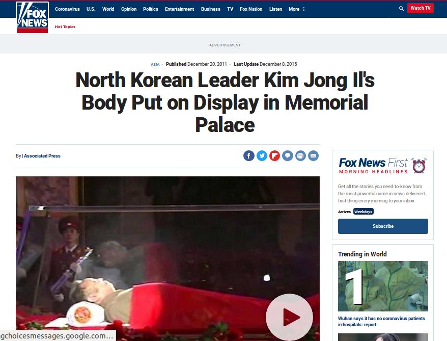 [Cek Fakta] Foto Jenazah Kim Jong Un Beredar, Ini Faktanya