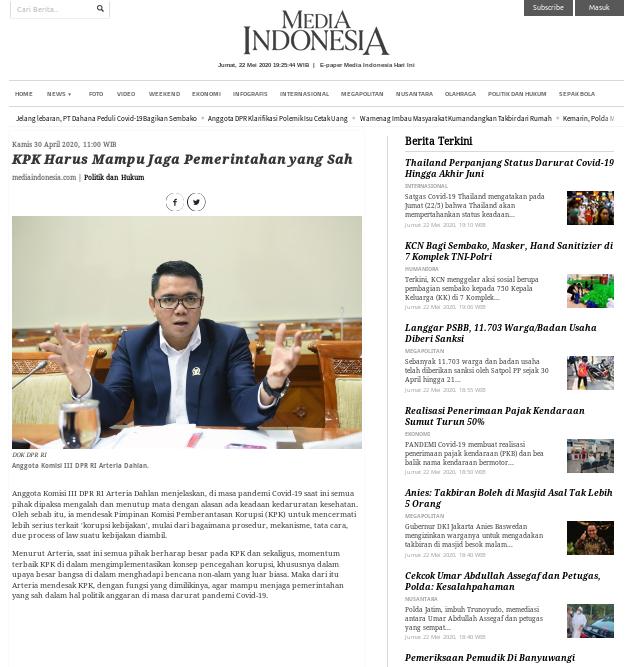 [Cek Fakta] Benarkah PDIP Minta KPK Periksa Jokowi? Ini Faktanya