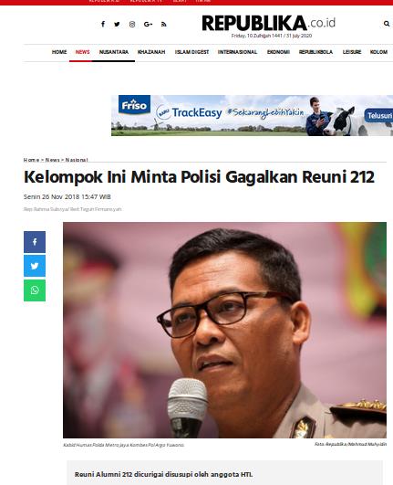 [Cek Fakta] Foto Petinggi Kepolisian Izinkan Demo Neo PKI? Cek Faktanya
