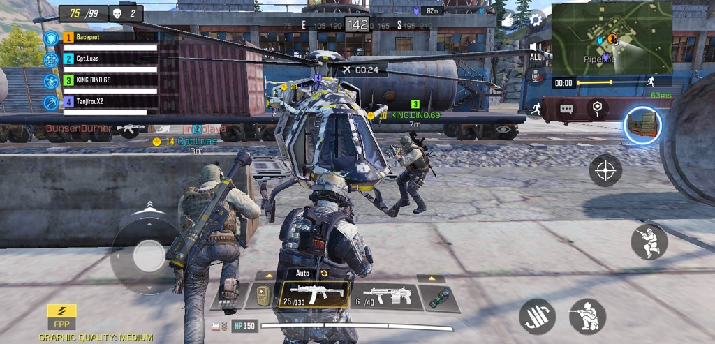 Menjajal Call of Duty Mobile di Closed Beta
