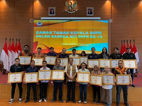 Medcom.id Diganjar Penghargaan dari BNPB