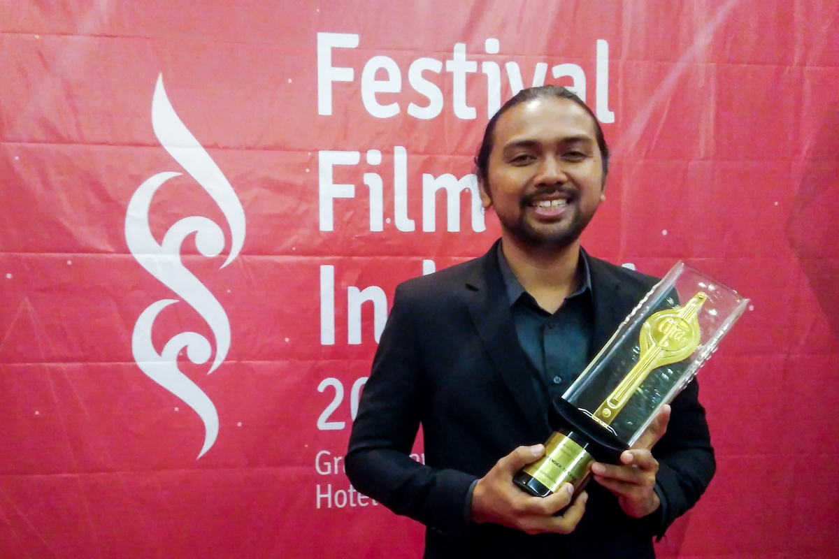 Bayu Prihantoro, Produser Film Ruah | Foto: News MetroTv