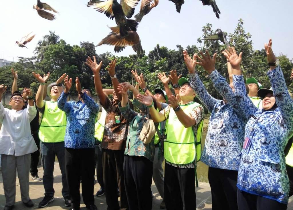 Peduli Pelestarian Alam, Korindo Sumbang 5 Ribu Bibit Pohon untuk 4 Taman di Jakarta